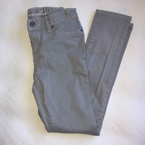 Girls American Eagle Grey Jeans